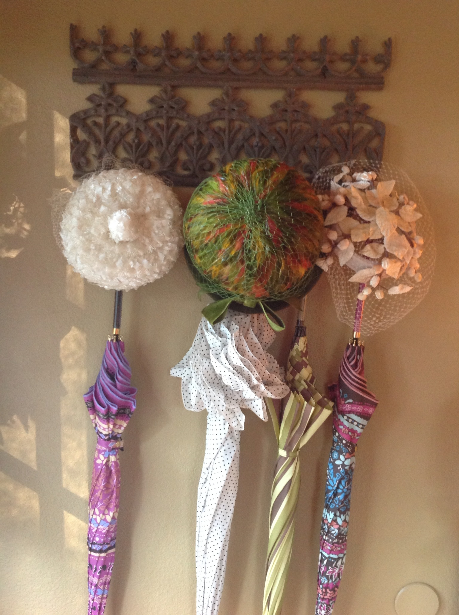 Decorating With Vintage Hats Crowns